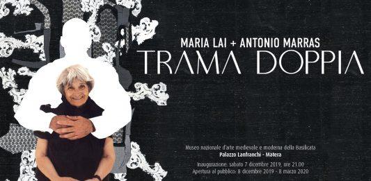 Maria Lai / Antonio Marras – Trama doppia