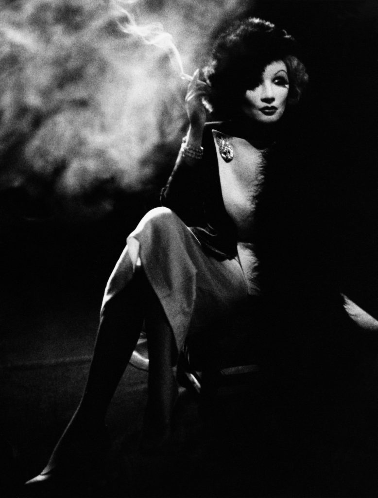 Helmut Newton Marlene Dietrich, Hollywood ©Helmut Newton Estate