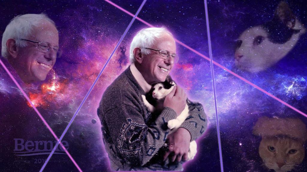 Bernie Sanders e i gattini