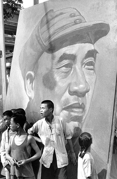 007 Meeting culturel au Canidrome de Shanghai, 4 juillet 1949. © Fondation Henri Cartier-Bresson / Magnum Photos