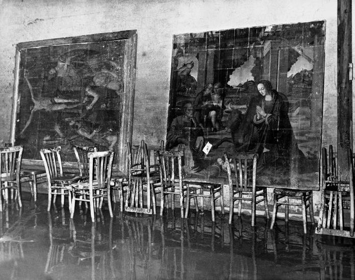 Uffizi alluvione 1966