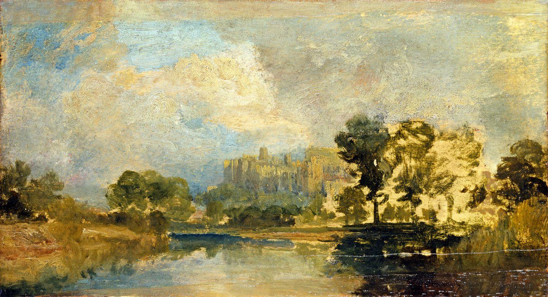 William Turner - The Thames near Windsor c.1807 copyright Tate