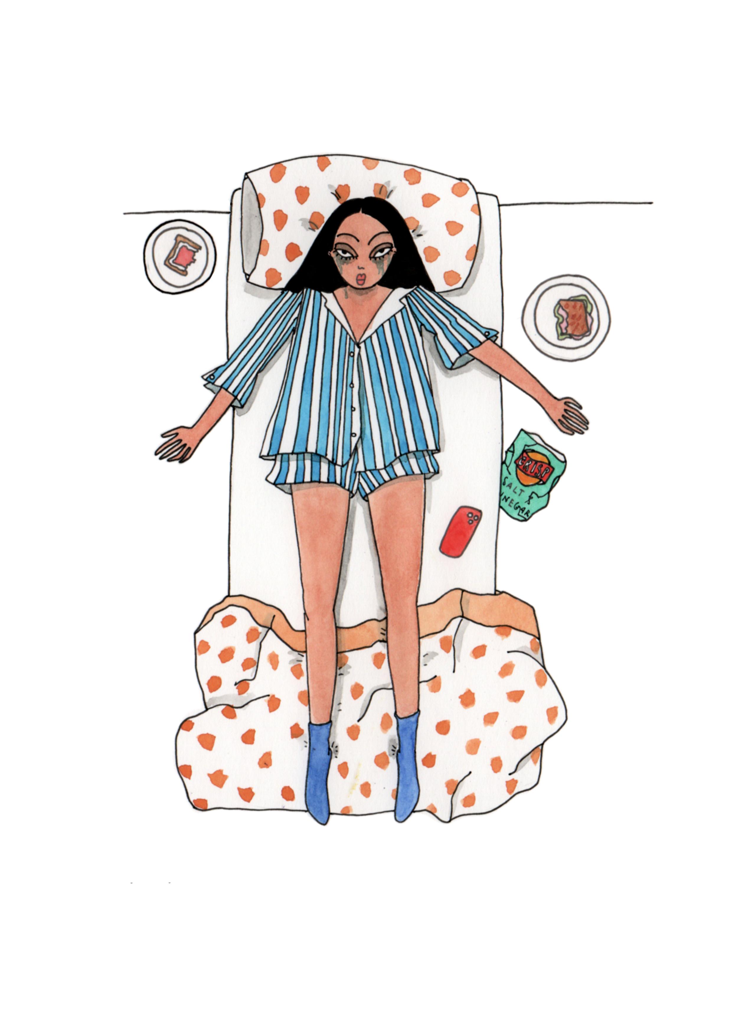 Emma Allegretti - self discipline is really hard (courtesy of the artist)
