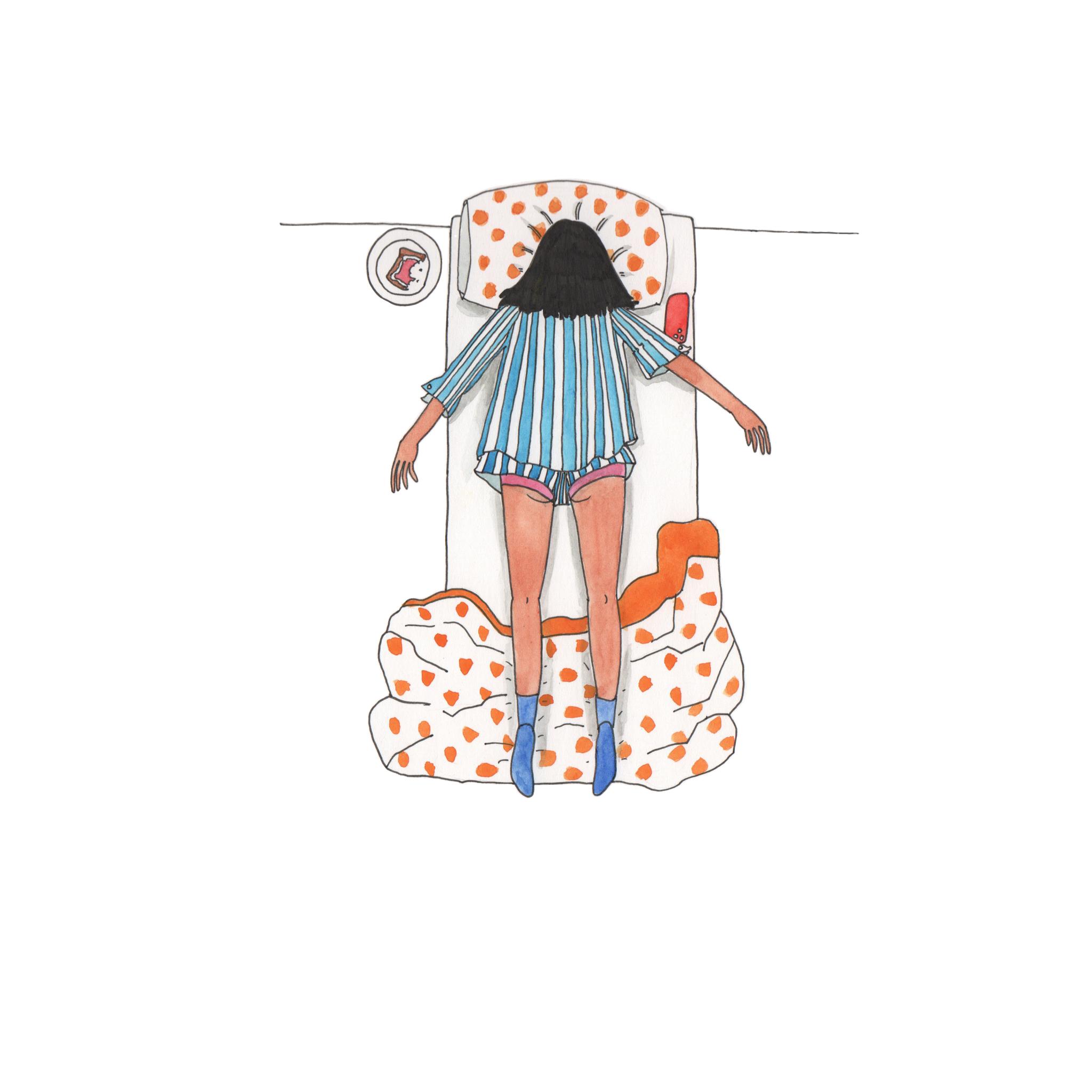 Emma Allegretti - self discipline is really really hard (courtesy of the artist)