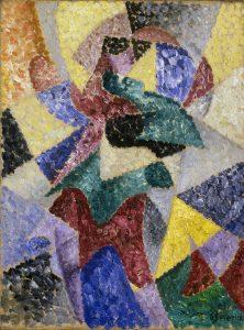 Gino Severini (Cortona, AR, 1883 - Parigi, 1966) Ballerina, 1913 Mart, Museo di arte moderna e contemporanea di Trento e Rovereto Collezione L.F.