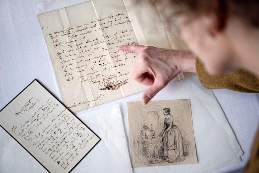 Una nuova collezione di oggetti si aggiunge al Museo Dickens, con lettere, disegni e altro ancora appartenuti allo scrittore (Courtesy: The Guardian)