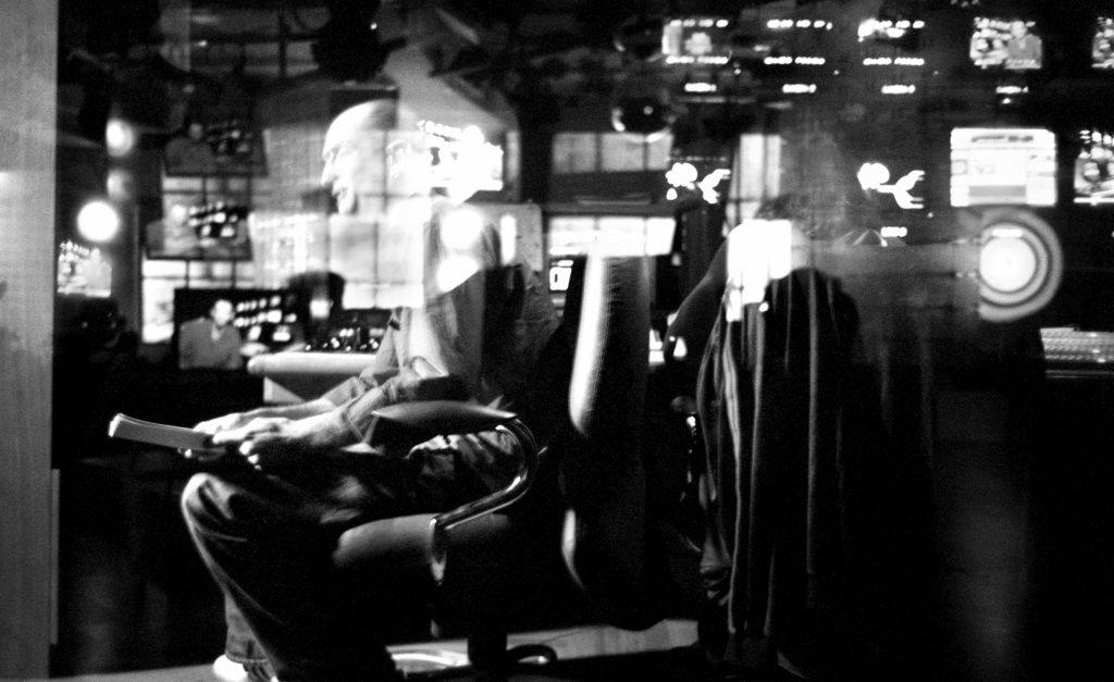 Stefano De Luigi, La regia di un programma MTV Italia. Studi Mtv Italia Milano, 2002