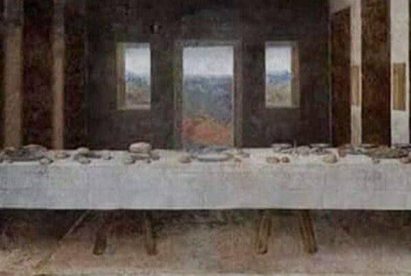 L'Ultima Cena di Leonardo da Vinci in un meme sul coronavirus che circola in rete