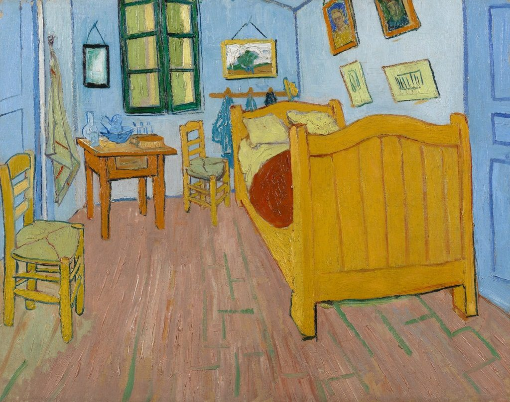 "Van Gogh's ""The Bedroom"" (1889), Vincent van Gogh Foundation; Van Gogh Museum"
