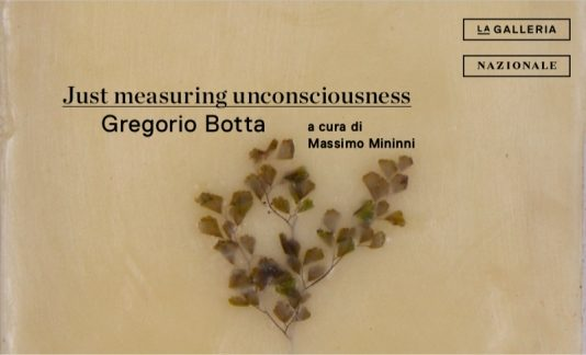 Gregorio Botta – Just measuring uncosciousness