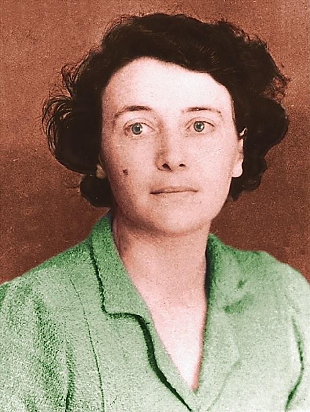 Eileen Maud O'Shaugnessy (Courtesy: Dally Mail)