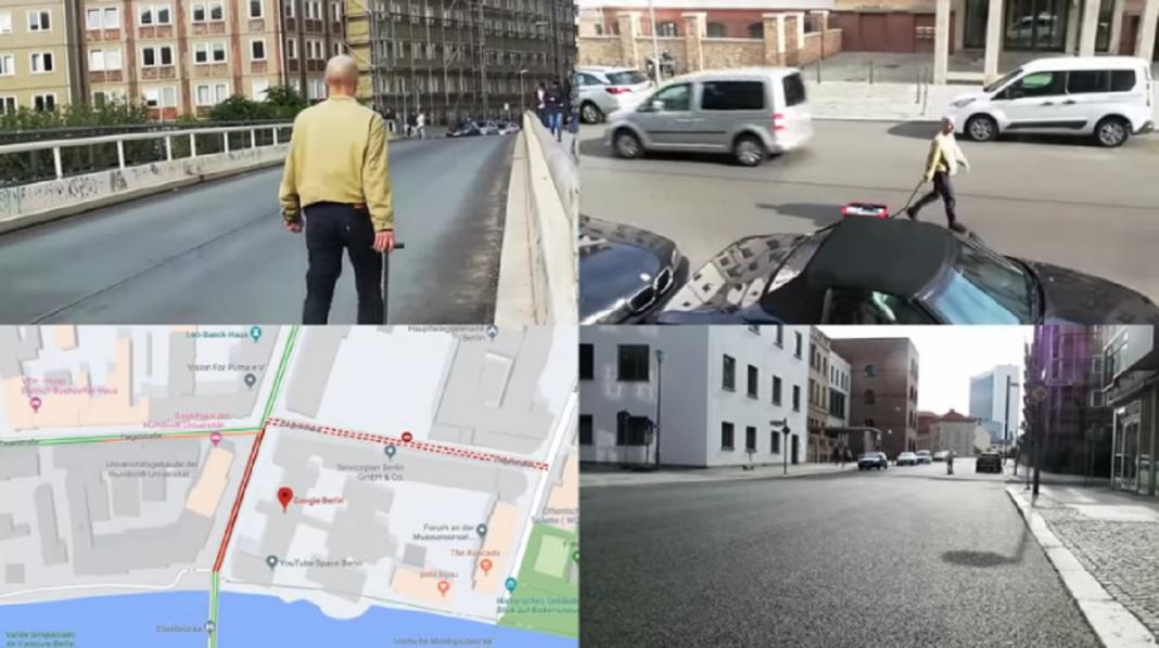 Simon Weckert e l'hack a Google Maps