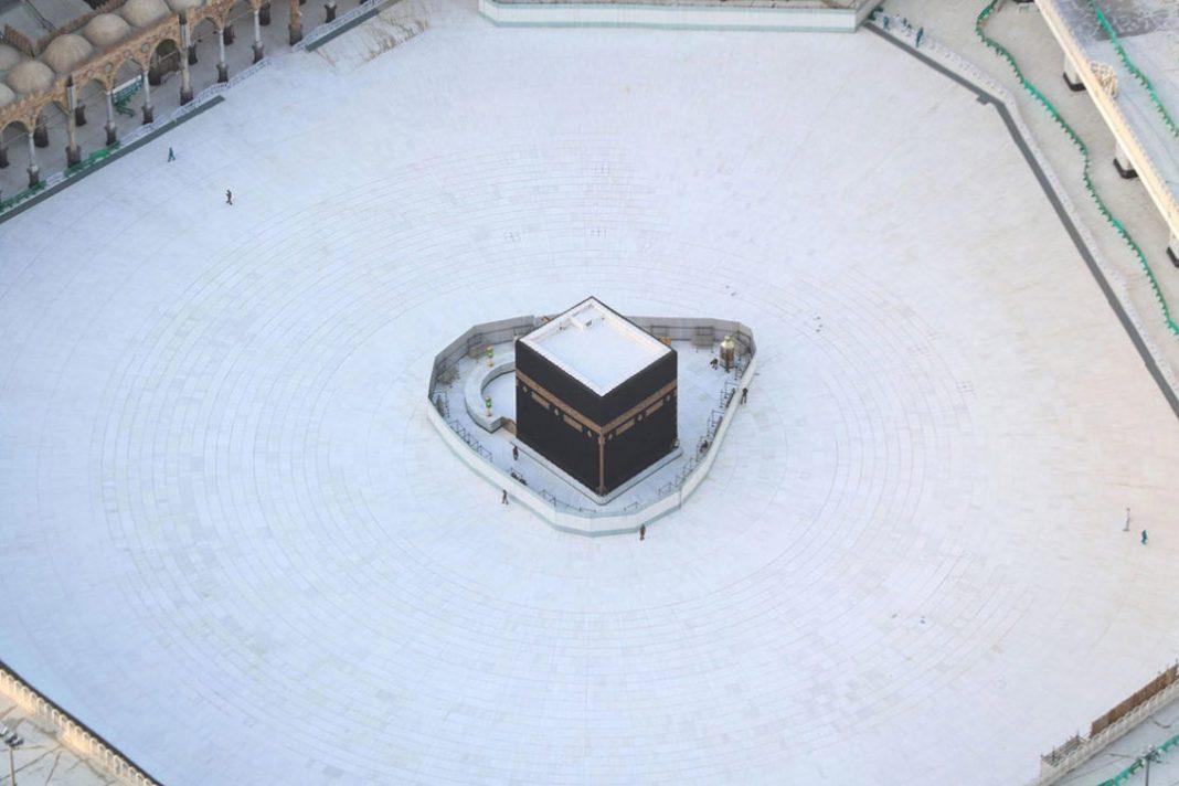 La Mecca deserta. Questa una delle foto della settimana, per le notizie dal mondo dell'arte della rubrica exibart.artworld (Fonte: TheInspiration)