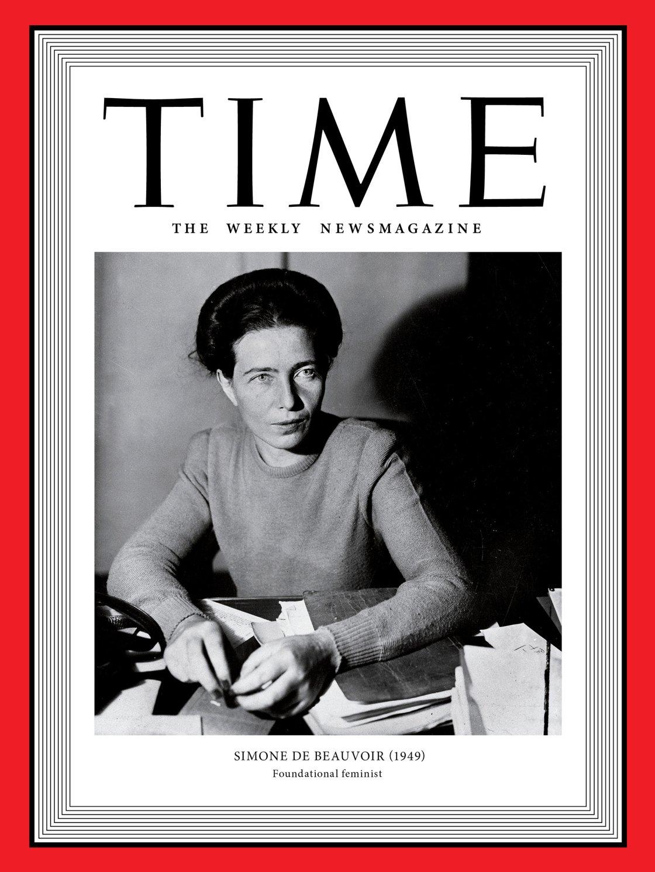 Per il 1949, è Simone de Beavoir la Woman of The Year (Albert Harlingue—Roger Viollet Collection/Getty)