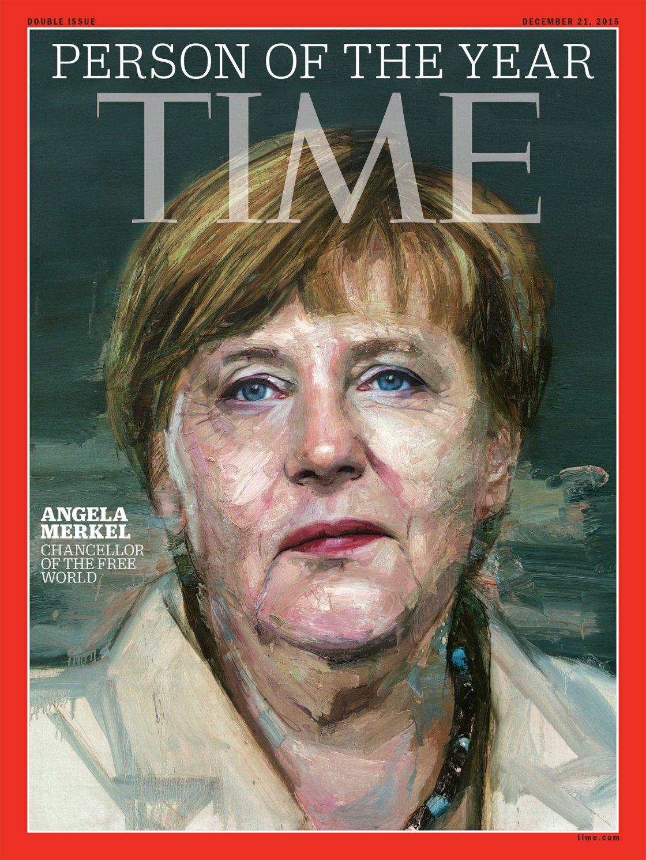 La cancelliera tedesca Angela Merkel (Colin Davidson)