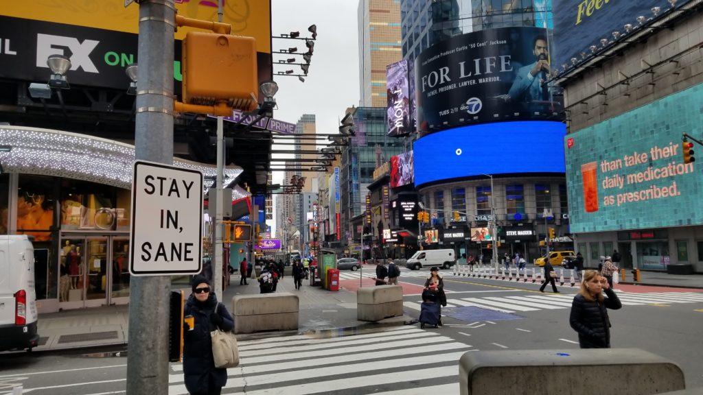 Tra le notizie dal mondo dell'arte di questa settimana, i lavori dello street artist Adrian Wilson a New York (Foto: Adrian Wilson)