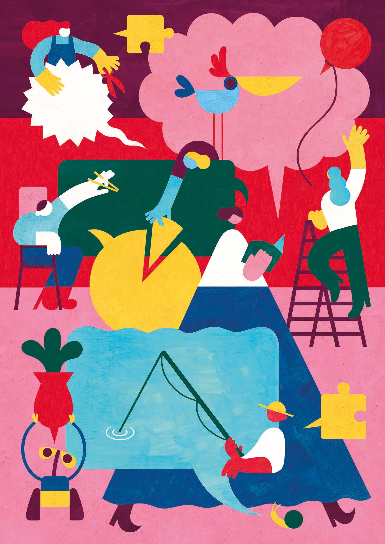 Le storie degli altri- exhibition Just Humans by Torino Graphic Days (Courtesy: Lucia Biancalana)