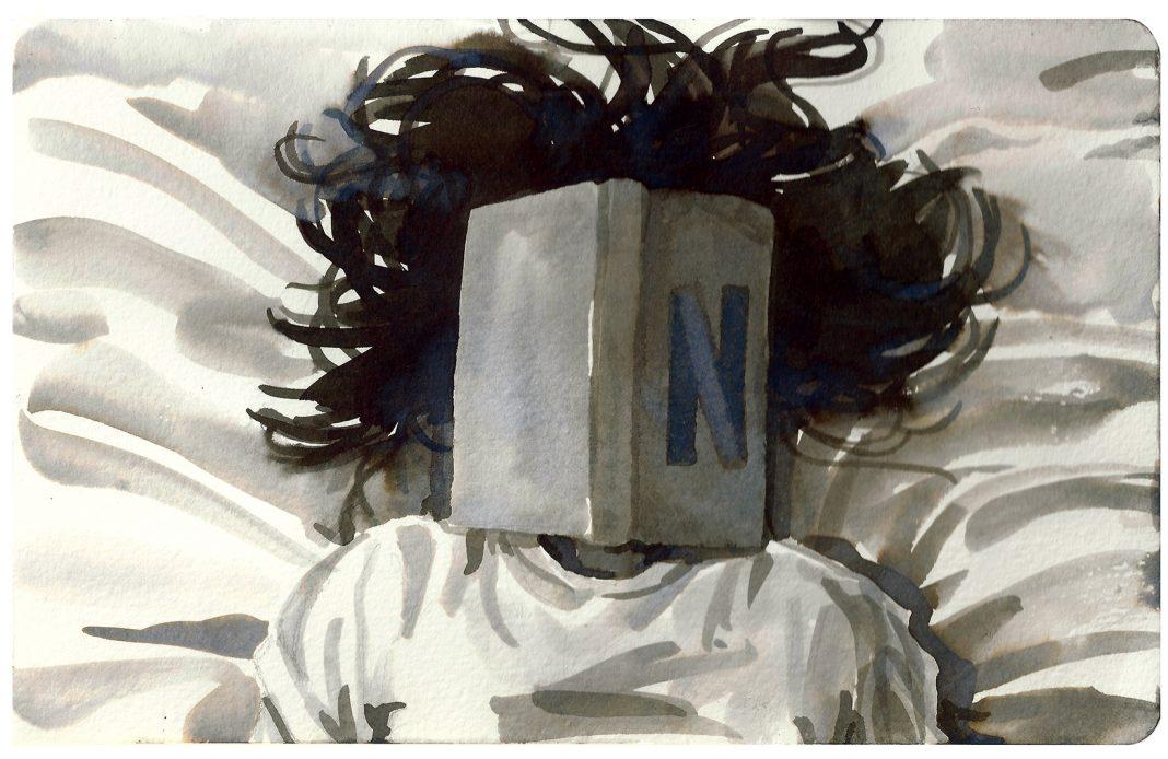 Chiara Fazi, Addormentati leggendo un libro o guardando netflix, marzo 2020