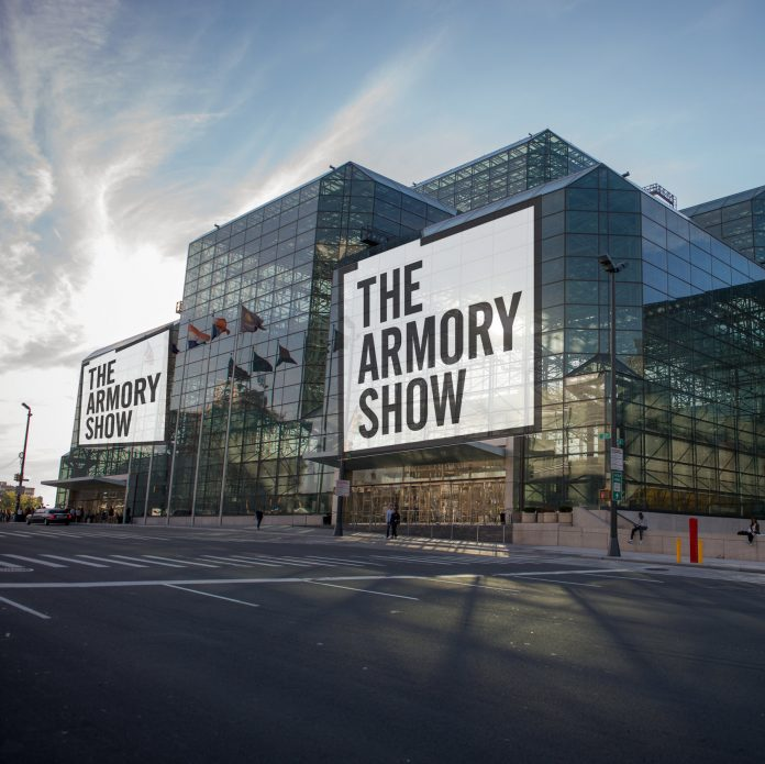 Il rendering dell'Armory Show allo Javits Center