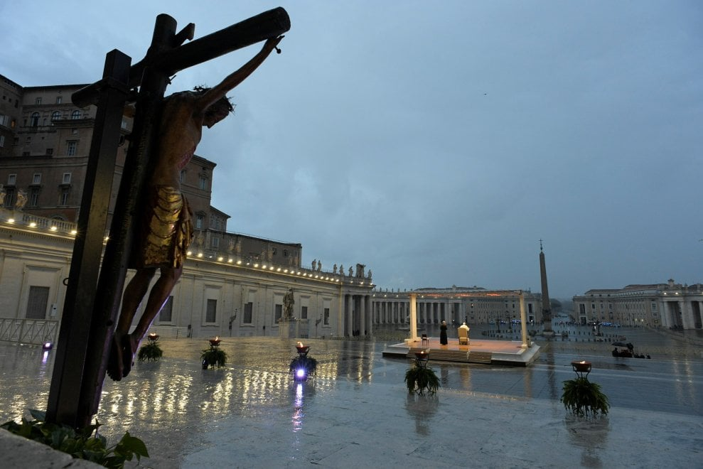 Il crocifisso ligneo miracoloso di San Marcello