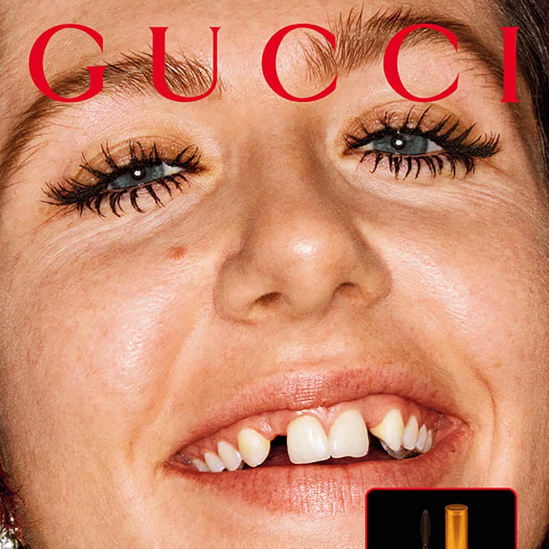 Tra le notizie dal mondo dell'arte di questa settimana: la nuova campagna Gucci (Photograph: Gucci Beauty)