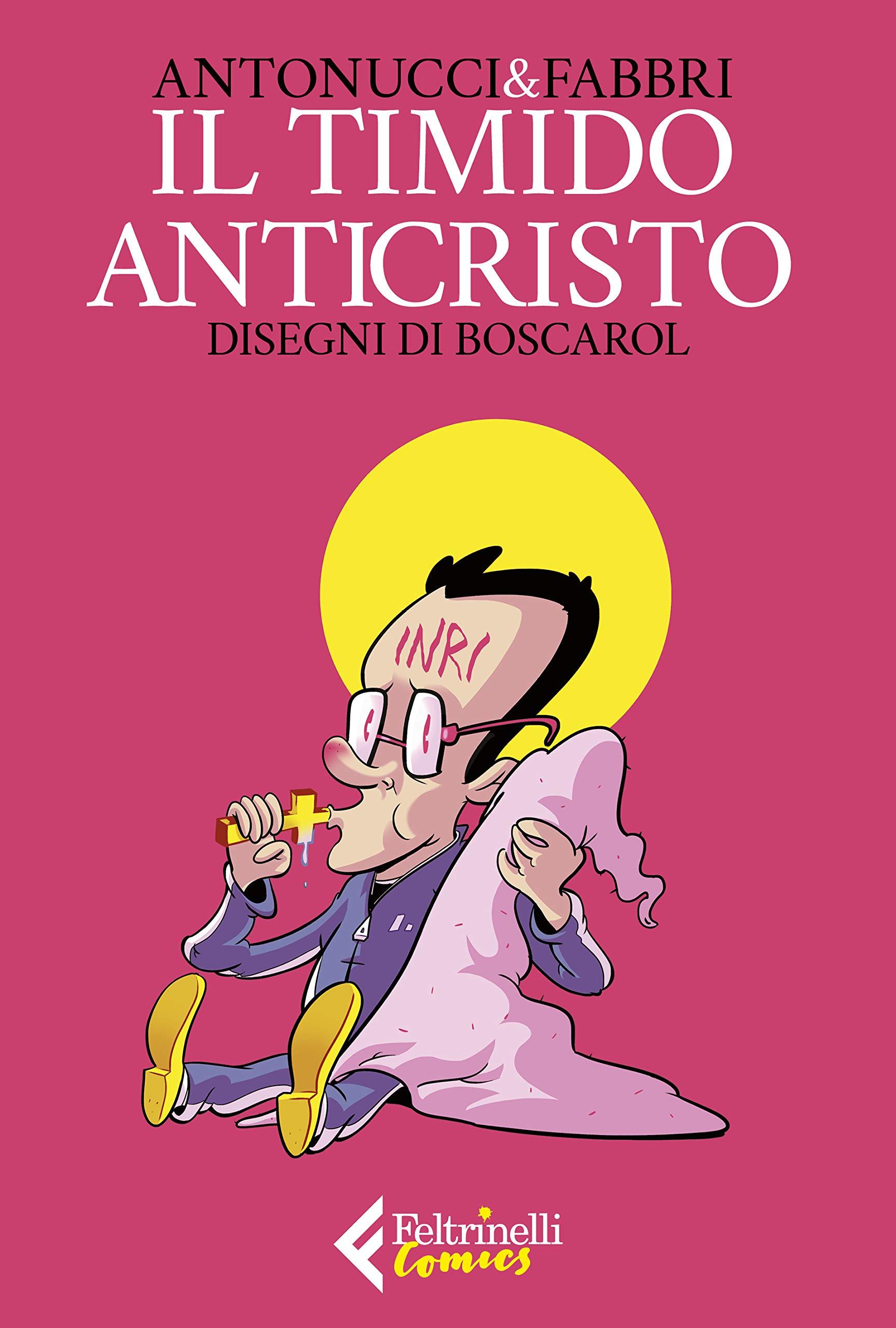 La copertina de Il timido Anticristo, scaricabile tra due settimane grazie all'iniziativa di Feltrinelli Comics