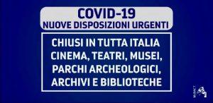 Disposizioni Ministeriali per Covid-19