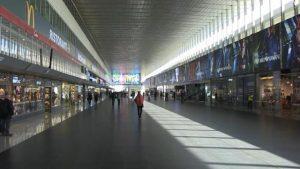 Roma. La stazione Termini deserta