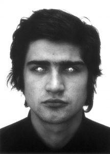 Giuseppe Penone, Rovesciare gli occhi, 1970