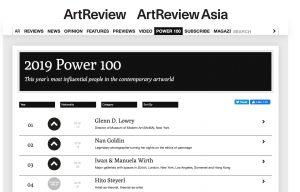 Art Review, Power 100