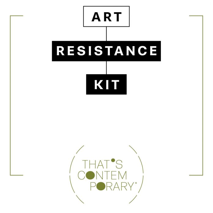 Art Resistance Kit, That's Contemporary