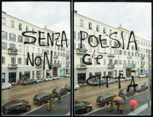 Fabrizio Bellomo, Senza poesia non c'è città, Fondazione Feltrinelli, Milano