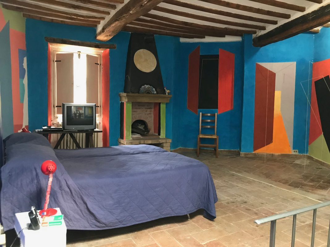 La casa dipinta di Bryan O'Doherty-Patrick Ireland