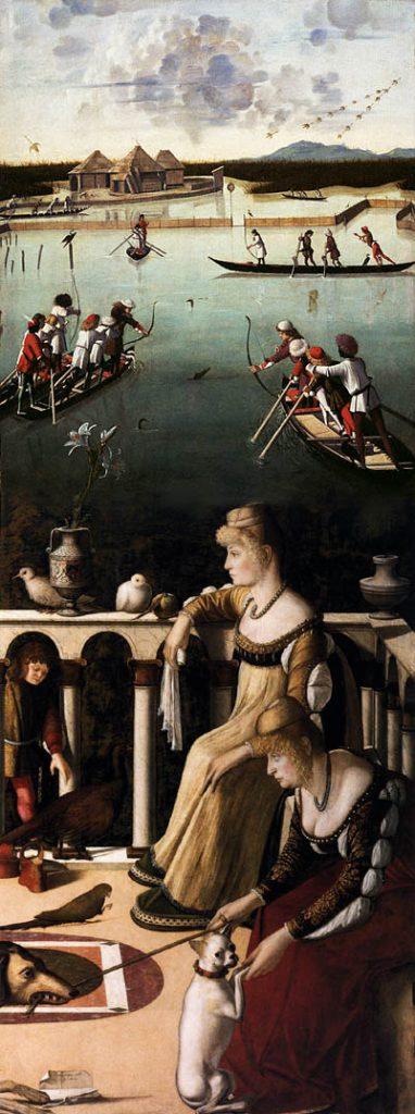 Vittore Carpaccio, Le due dame