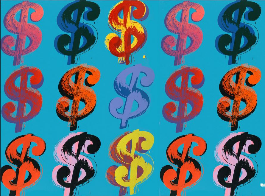 Andy Warhol, Dollar signs