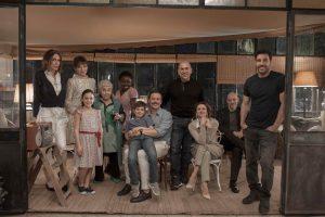 Il cast de La dea fortuna, di Ferzan Ozpeteck