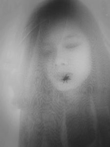 Tahia Farhin Haque, The face behind the veil, my Chakma friend, 2018 (courtesy of the artist)
