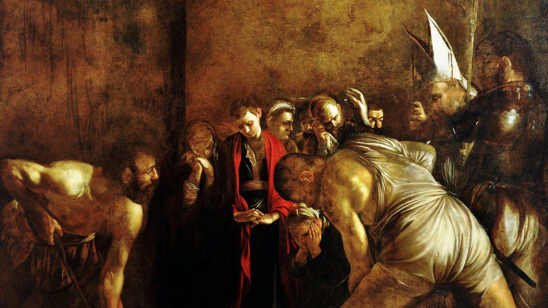 Caravaggio, Il seppellimento di Santa Lucia, Siracusa