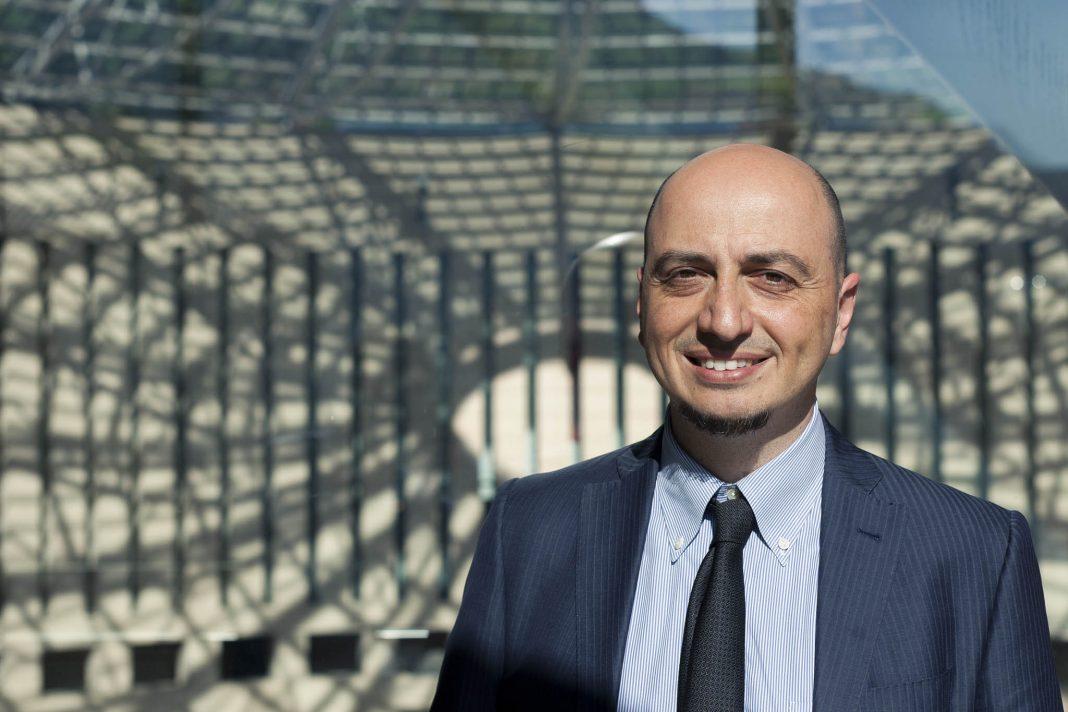 Gianfranco Maraniello al Mart, foto di Jacopo Salvi