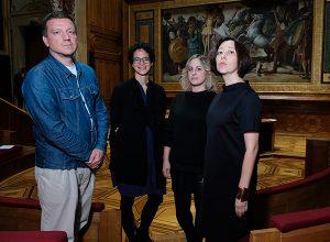 Team Artistico Manifesta 13: Stefan Kalmàr, Alya Sebti, Marina Otero Verzier, Katerina Chuchalina