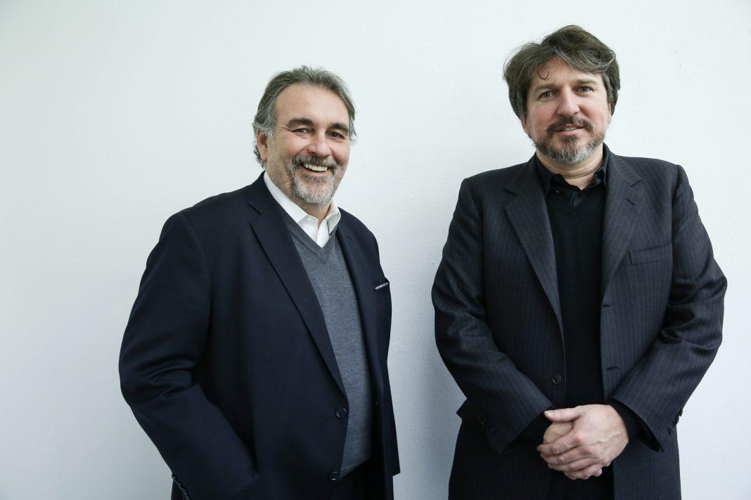 Giampaolo Abbondio e Federico Luger