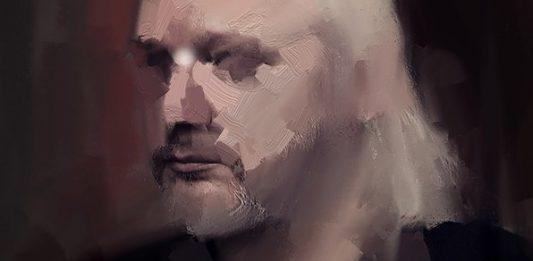 Condizione Assange. Quaranta ritratti di Miltos Manetas