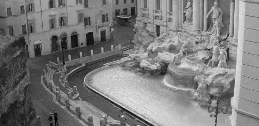 Immagini Italia durante lockdown, via SkylineWebcams