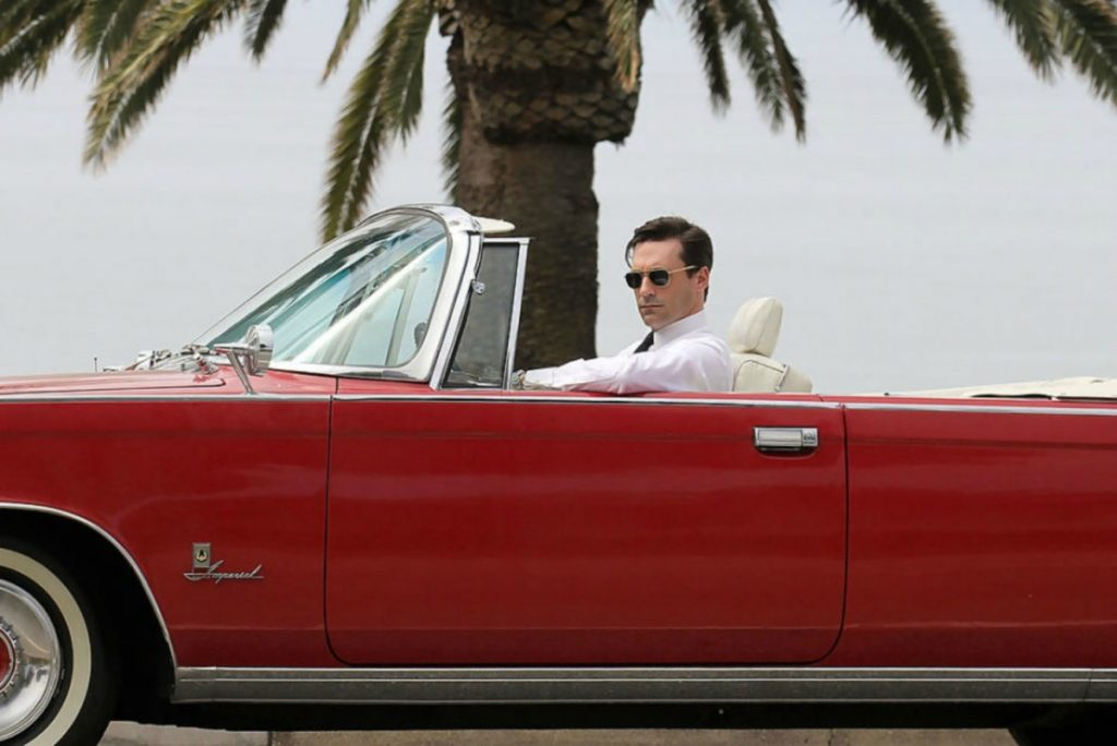 Frame da Mad Men, su Netflix