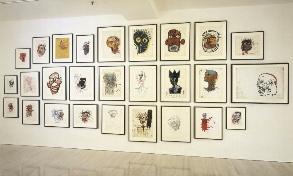 Untitled (Head) Basquiat