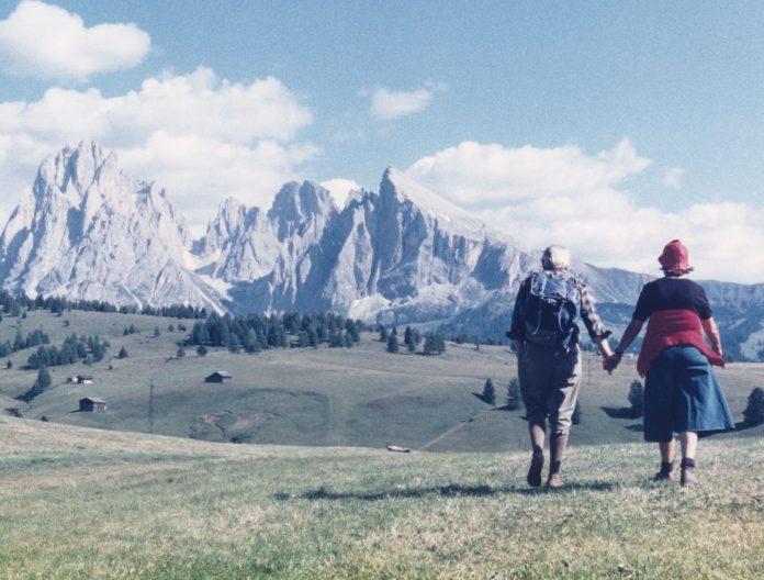 Luigi Ghirri, Alpe di Siusi, 1979 © Eredi Luigi Ghirri