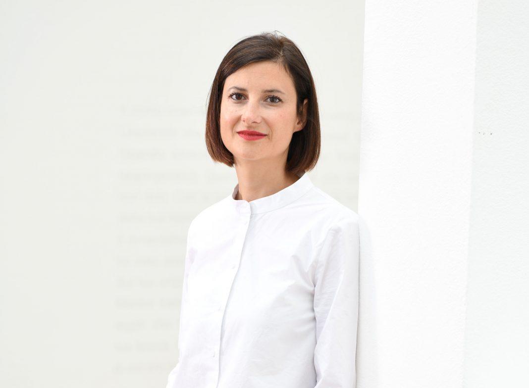 Martina Oberprantacher, direttrice di Kunsthaus Merano