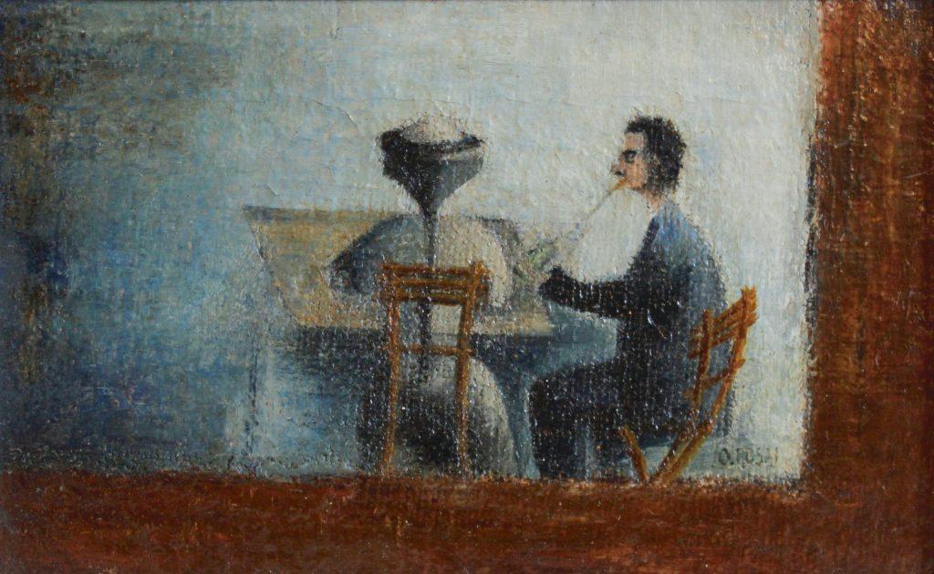 Ottone Rosai a Pontassieve