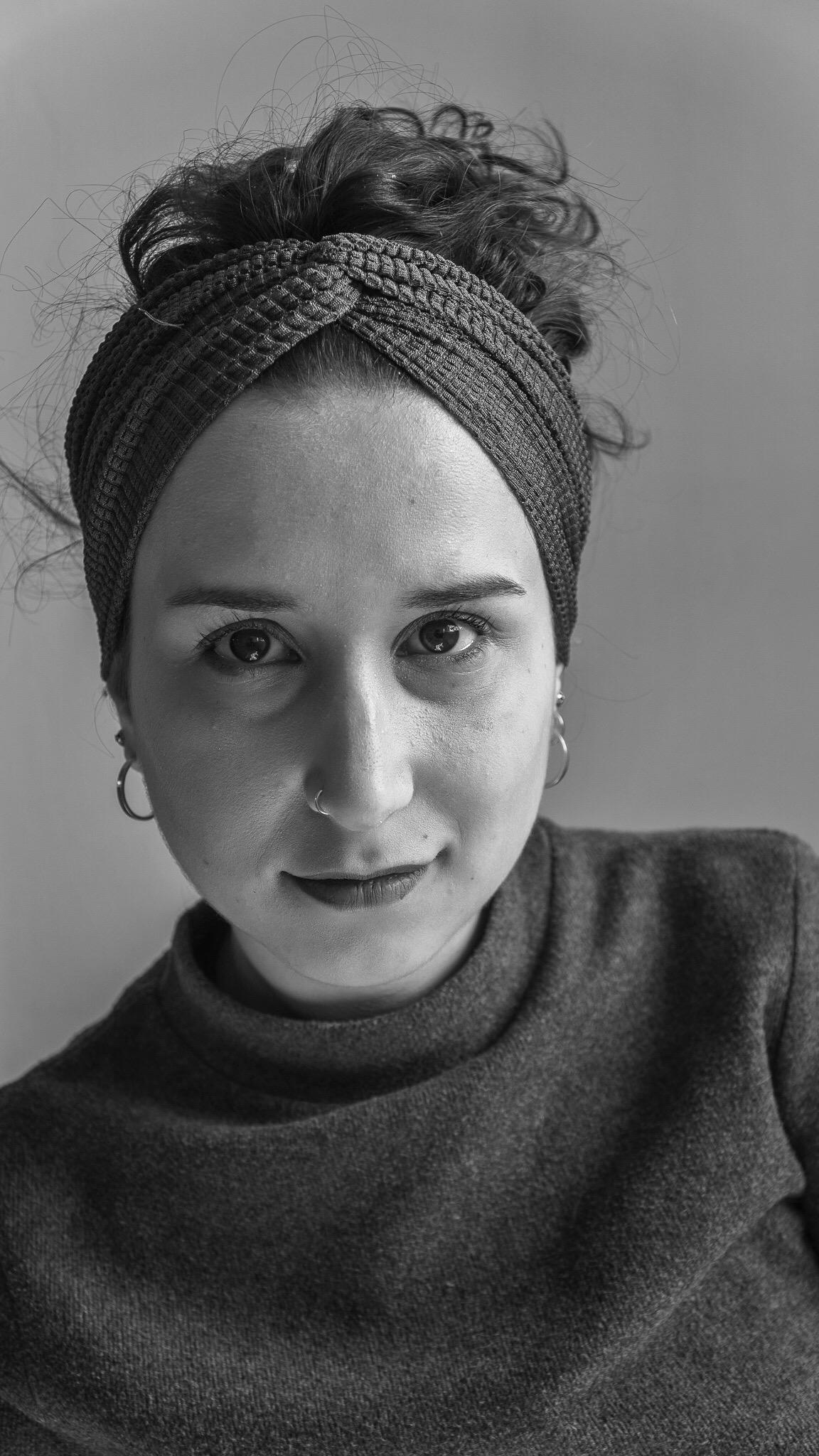 Lei è Eleonora Rebiscini, una delle due fondatrici di Onstream Gallery