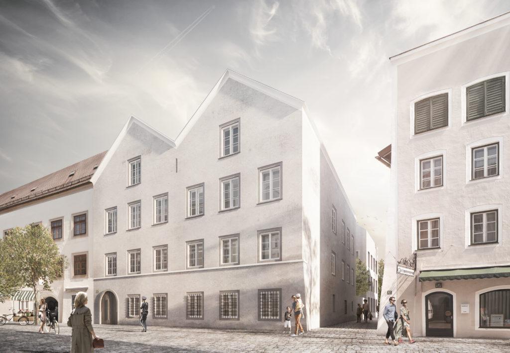 Il progetto di restauro della casa di Hitler